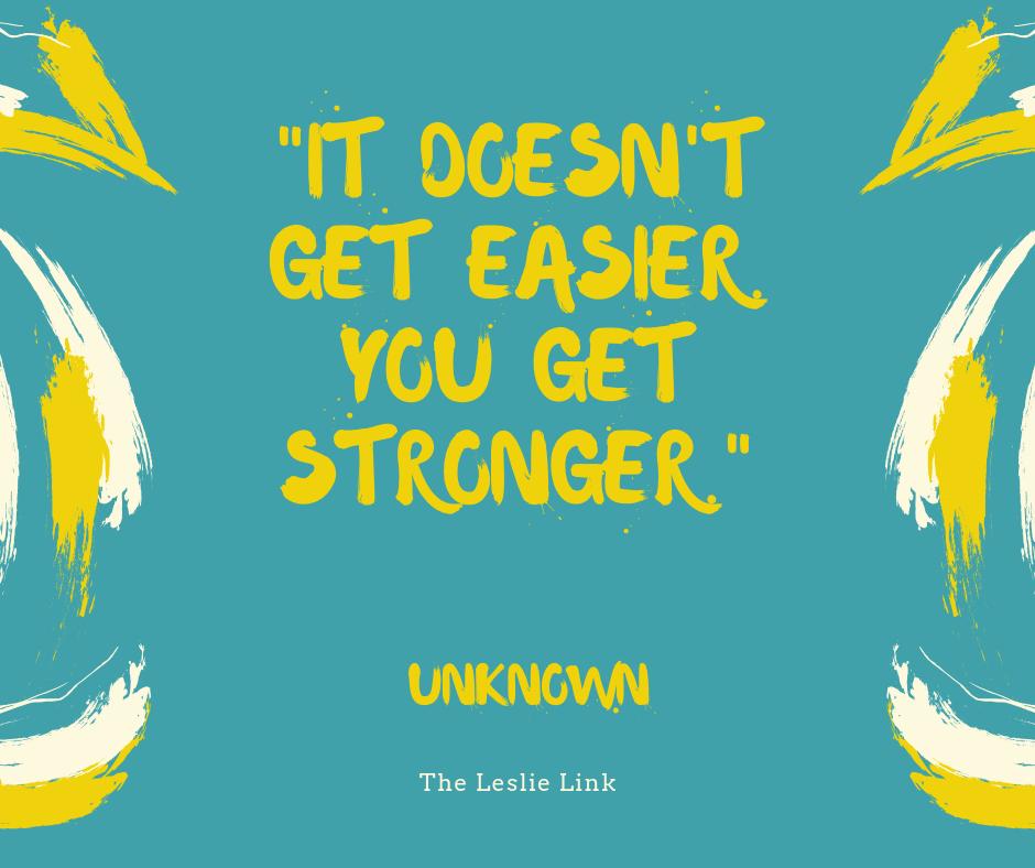 Stronger - The Leslie Link