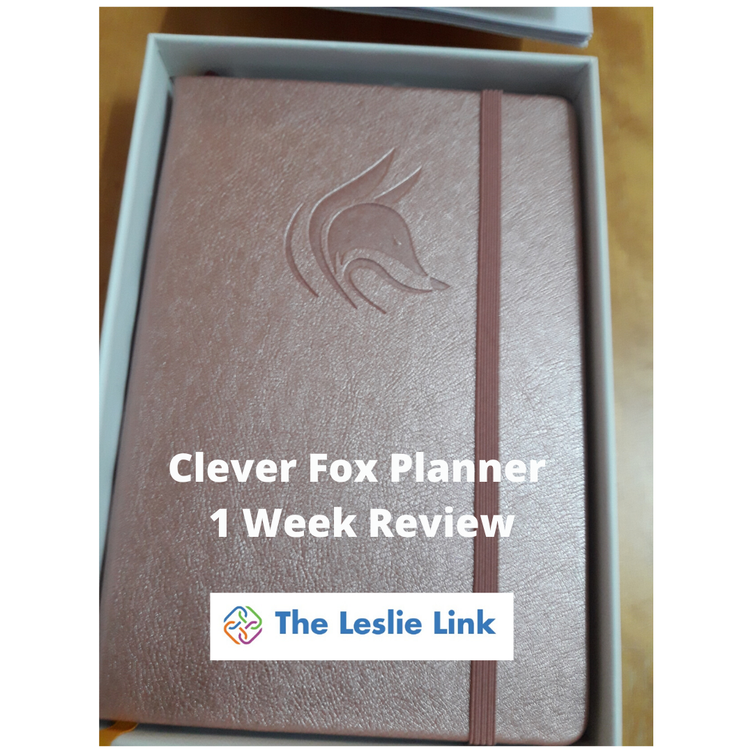 Clever Fox Planner – 1 Week Review – Part 2